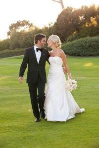 Black and White Wedding Attire